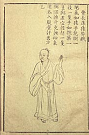 A painting about Chinese medicine: wu qing xi